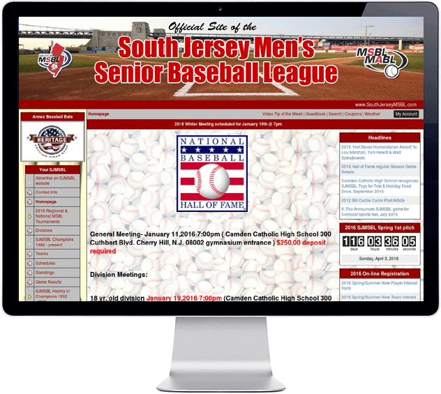 South Jersey MSBL