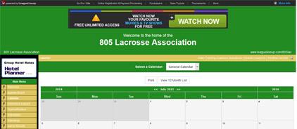 805 Lacrosse Association