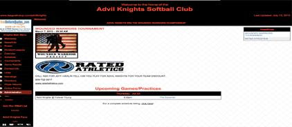 Advil Knights Softball Club