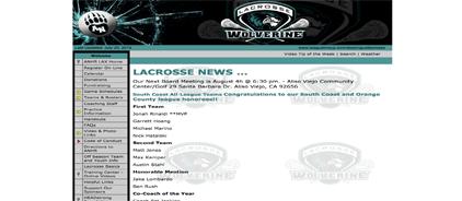 Aliso Niguel Lacrosse