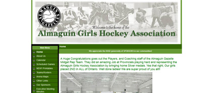 Almaguin Girls Hockey Association