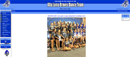 Alta Loma Braves Dance Team