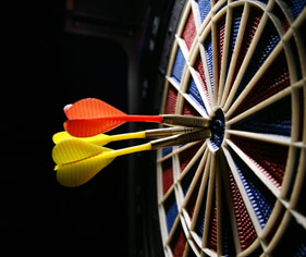 Darts Website Builder & Team Manager