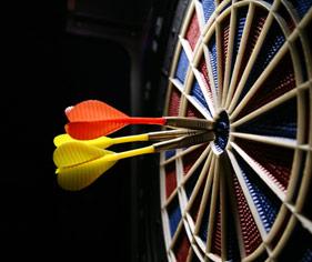 Darts Website Builder & Team Manager