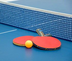 Table Tennis Website Builder & Team Manager