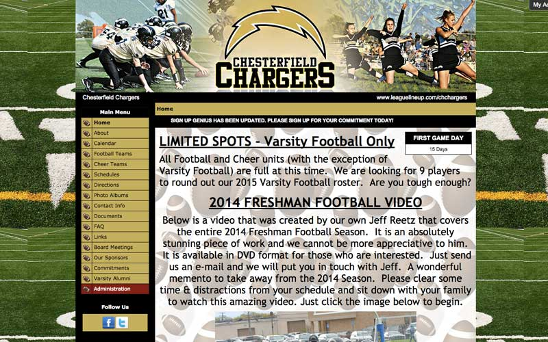 Chesterfield Chargers