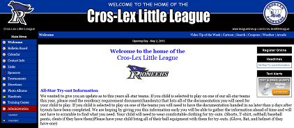 Cros-Lex Little League