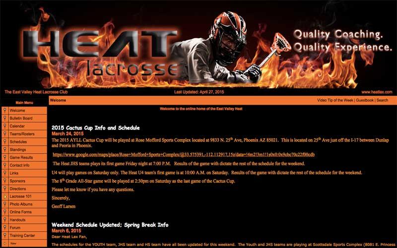 East Valley Heat Lacrosse Club
