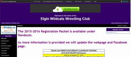 Elgin Wildcats Wrestling Club