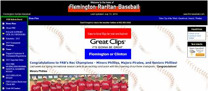 Flemington Raritaan Baseball