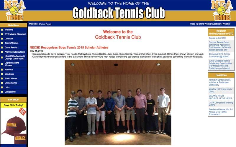 Goldback Tennis Club