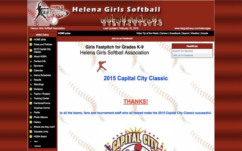 Helena Girls Softball