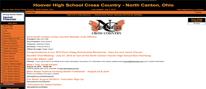 Hoover High School Cross Country