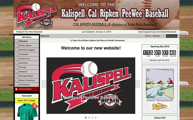 Kalispell Cal Ripken PeeWee Baseball