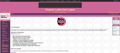 Kingston Ladies Dart League
