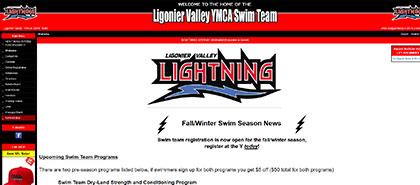 Ligonier Valley YMCA Swim Team