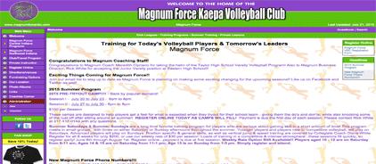 Magnum Force Kaepa Volleyball Club