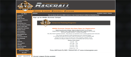 Mississauga North Baseball Association