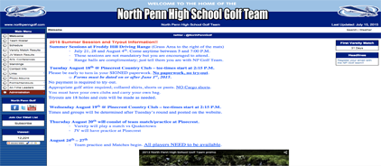 North Penn High School Golf Team