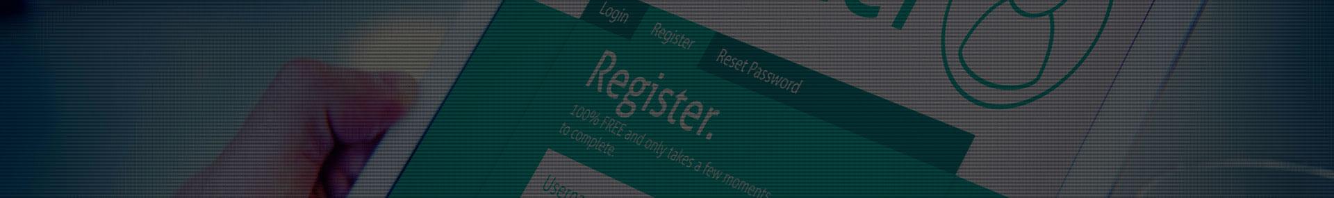 Online Registration Header Image