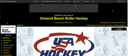 Ormond Beach Roller Hockey