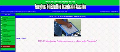 Pennsylvania High School Field Hockey Coaches Association