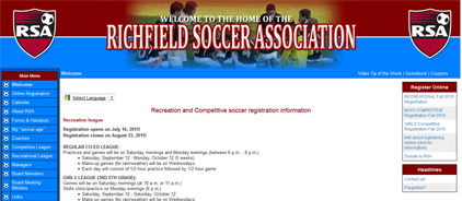 Richfield Soccer Association