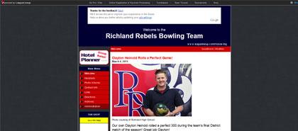 Richland Rebels Bowling Team