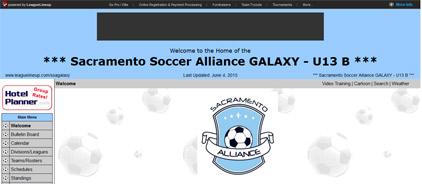 Sacramento Soccer Alliance GALAXY