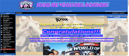 Show me volleyball academy