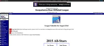 Susquehanna River Wiffleball