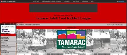 Tamarac Adult Coed Kickball League