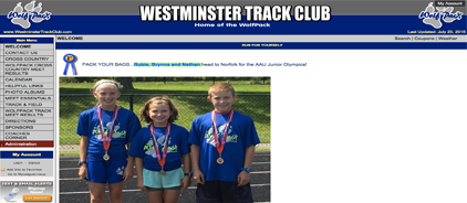 Westminster Track Club