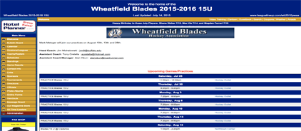 Wheatfield Blades PeeWee Major AAA 2015/2016